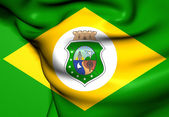 Flag of Ceara, Brazil.  — Stock Photo