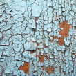 Royalty-Free Stock Photo: Cracked oil on old wall
