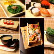 Sushi collage — Foto de Stock