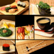Stock Photo: Sushi collage