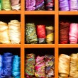 Stock Photo: Scarfs, fabric background
