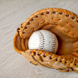 Royalty-Free Stock Photo: Baseball and mitt