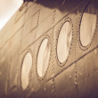 Stock Photo: Fuselage of airplane