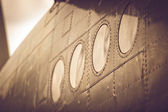 Fuselage of airplane — Stock Photo