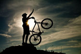 Mountainbike — Stockfoto