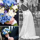 Romantisch huwelijk — Stockfoto