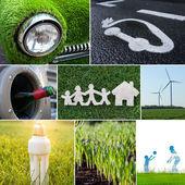 Eco energetická koncepce — Stock fotografie