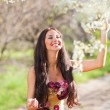 Stock Photo: Portrait of sensual spring woman
