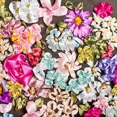 Ribbon embroidery — Stock Photo