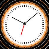 Clock illustration — Stock Vector