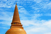Huge pagoda of Thailand — Stock Photo