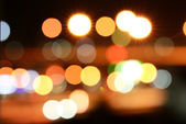 Colourful bokeh — Stock Photo