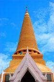 Grande stupa de tailândia — Foto Stock