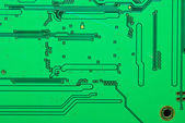 Part of the old electronic circuit boards background — Stock fotografie