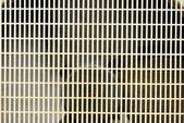 Regtangle vieja cubierta del ventilador del acondicionador de aire de fondo — Foto de Stock