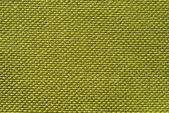 Green fabric texture background — Stock Photo
