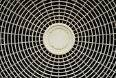 Old fan cover of air conditioner background — Stock Photo