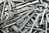 Aluninium tensile test bar — Foto de Stock