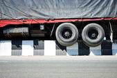 авария на шоссе — Стоковое фото
