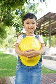 хорошее настроение малыша инженера — Стоковое фото