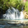 Navajo Falls in Havasu Canyon in the Grand Canyon — Stock Photo