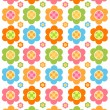 Stock vektor: Flower background