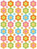 Flower background — Stockvector