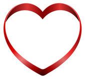 Nastro di cuore — Vettoriale Stock