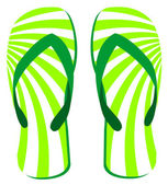 Flip flops vector sandal — Stock Vector