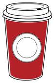 Coffee to go — Stock Vector