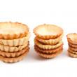 Stock Photo: Cake baskets on white