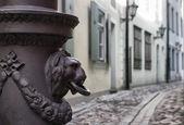 Street in old town. Riga, Latvia — Stock Photo