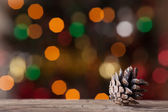 Bump from the trees on background bokeh — Stock Photo