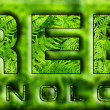 Stock Photo: GREEN technologies
