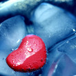 Icy heart — Stock Photo