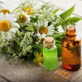 Essential aroma oil — Stock Photo