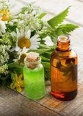 Základní aroma olej — Stock fotografie