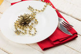 Vánoční stůl — Stock fotografie