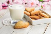 Biscoitos frescos — Foto Stock