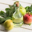 Stock Photo: Apple vinegar