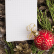Christmas background with place for your text — Stock Photo #34354461