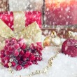 Decorative christmas composition — Stock Photo #34354895
