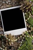 Jul bakgrund med plats för din text — Stockfoto
