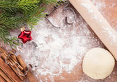 Christmas background with place for your text — Stock Photo