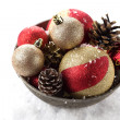 Decorative christmas composition — Foto de Stock