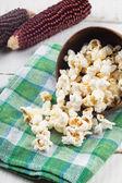 Popcorn in bowl — Stock Photo