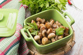Fried mushrooms — Stock Photo