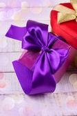 Cajas de regalo festivo — Foto de Stock