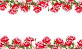 открытка с элегантными цветами — Стоковое фото