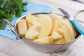 Patata en tazón de fuente — Foto de Stock